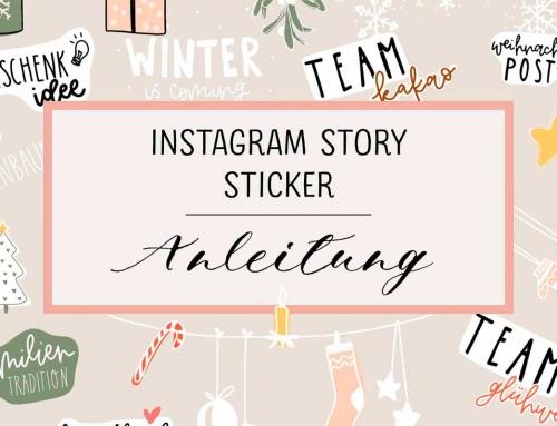 Story Sticker für Instagram: So geht's