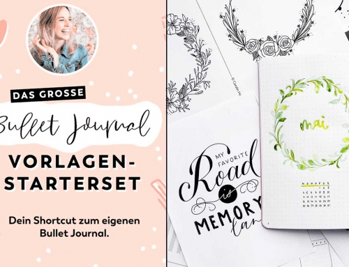 3 Wege, um Vorlagen ins Bullet Journal zu übertragen (+ Journal Setup Video)