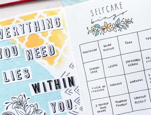 90 Ideen für das Selfcare-Bingo