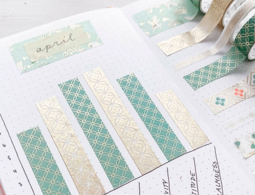 4 Washi Tape Ideen für dein Bullet Journal