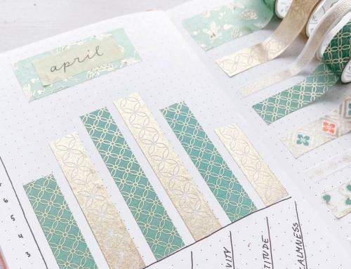 4 Washi Tape Ideen für dein Bullet Journal